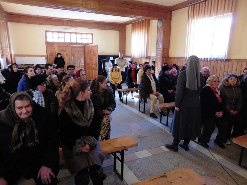 Întâlnire în Cireșoaia pe tema violenței domestice